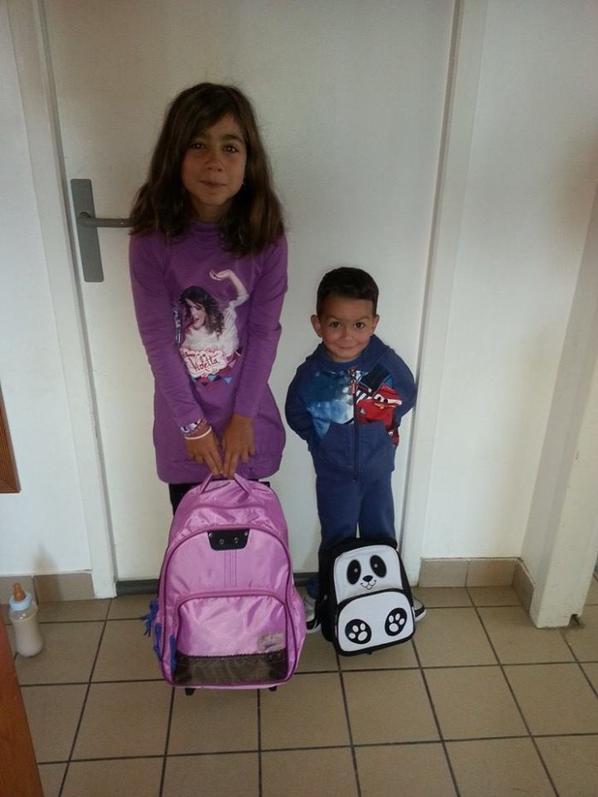 la rentre scolaire de mes petits