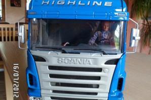 Scania échelle 1/14