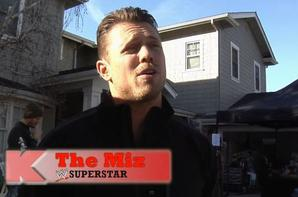 Outside The Ring : The Miz (K-Mart Commercial Behind The Scene)