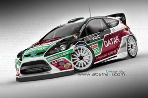 Saison complète en Fiesta WRC Qatar pour Thierry Neuville.