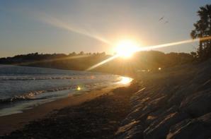 Soiré a la plage en familles un régal je vous aimes mes amours ♥
