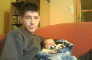 les 1 mois de mon fils