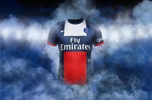 Nouveaux maillot domicile / extérieur du PSG.