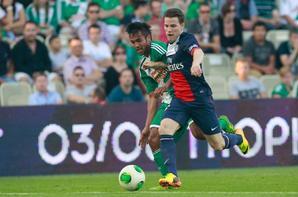 """Match amical, victoire 2-1 contre le Rapid Vienne. Trimmel (16"""") / Pastore (77"""") et Gameiro (81"""")"""