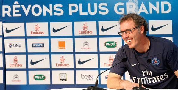 Conférence de presse de Laurent Blanc. « Impatients de débuter »