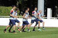 Séance d'entrainement du 16.08.13 ouvert aux médias avant le match de dimanche