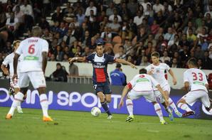 """2e journée de championnat, match nul 1-1 face a Ajaccio. Pedretti (9"""") / Cavani (86"""")"""