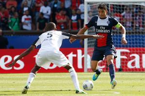 """4e journée de championnat, victoire 2-0 face à Guingamp. Rabiot (90"""") et Ibrahimovic (90"""")."""