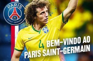 Gros coup du PSG, David Luiz débarque sur la capitale !
