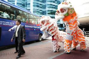 Les premières journées en Asie en images !