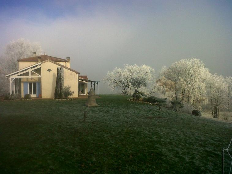 Givre en Lot et Garonne