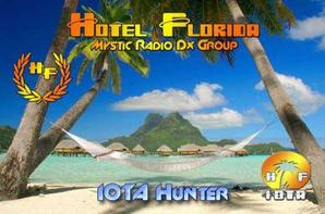 HF QSL CARD IOTA HUNTER