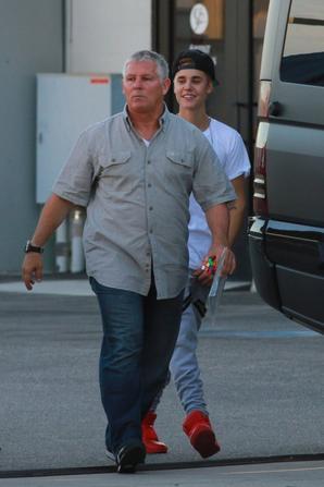 29.08 Justin hier après les répétitions.