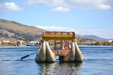 îles flottantes des Uros - lac titicaca
