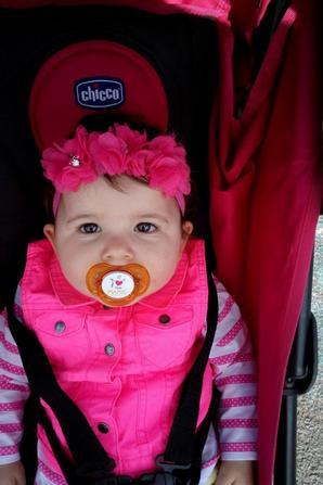 Ma fille  à 10 mois