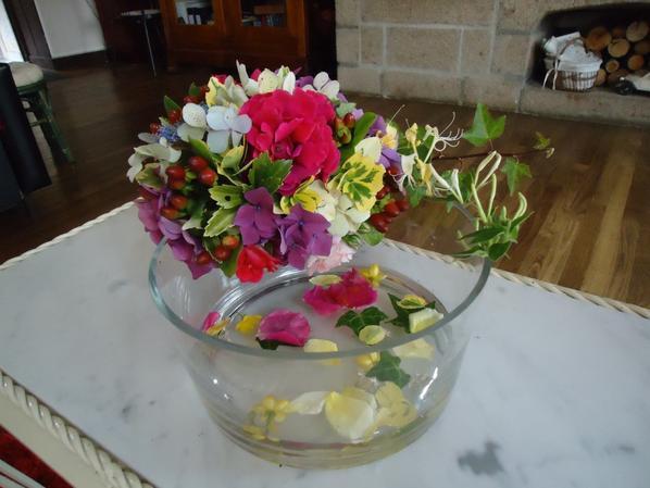 Avec les Fleurs du Jardin !