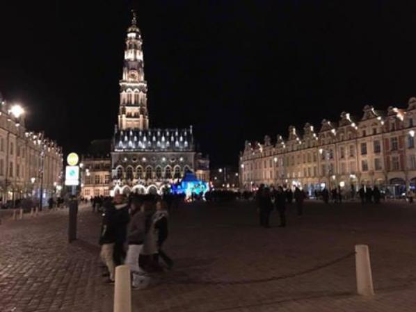 Nuit...Marché...Arras...Déc...