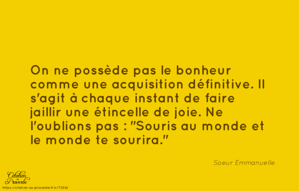 Bonheur..........