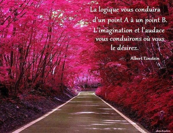 Imagination et Audace.....Einstein!!