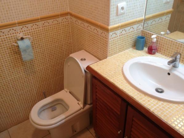 Salle de bain + toilettes
