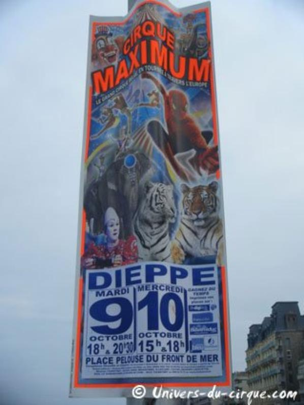 cirque maximum a dieppe et  villerupt