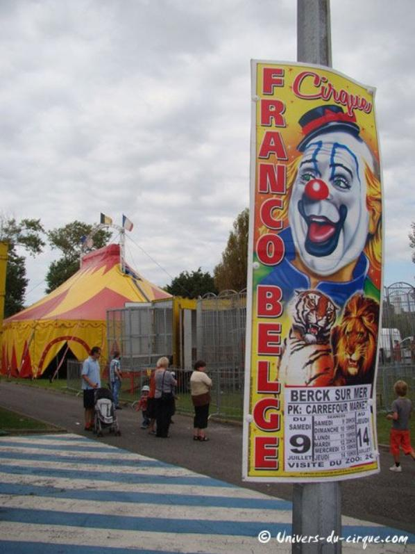 cirque franco belge