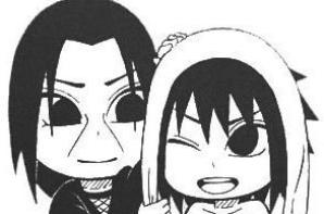Sasuke et Itachi sd