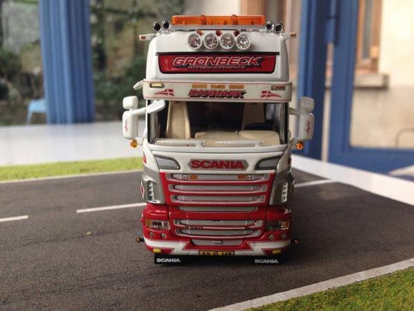 scania show truck GROENBECK