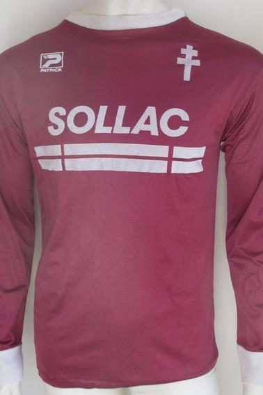 Maillot FC Metz porté par M. Deza en championnat durant la saison 86/87