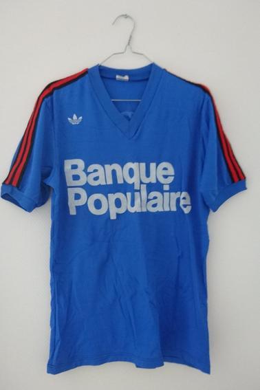 Maillot Stade Rennais extérieur porté en championnat durant la saison 76/77