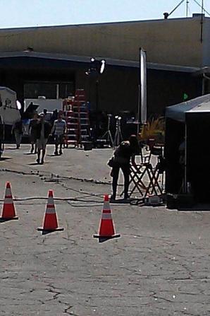 Les premières photos des endroit du tournage !