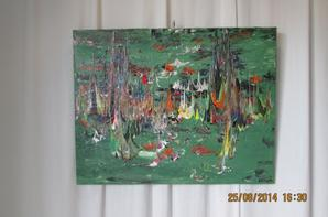 BonJour a tous il vous reste encore 8 Jours pour voir l'expo de l'artiste Evin rémy au musé des Racines à Thevet St Julien