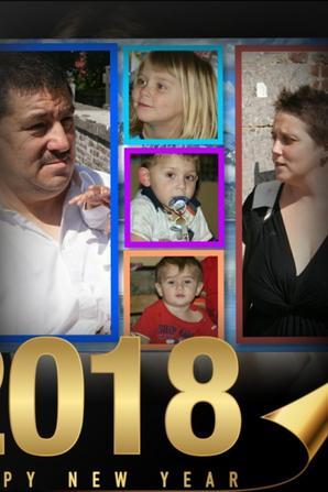 ma famille et moi vous souhaitons une bonne année 2018