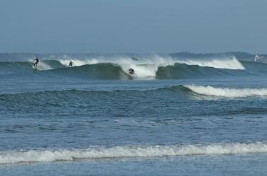Belles conditions de surf !