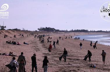 Nettoyage plage d'Aytré