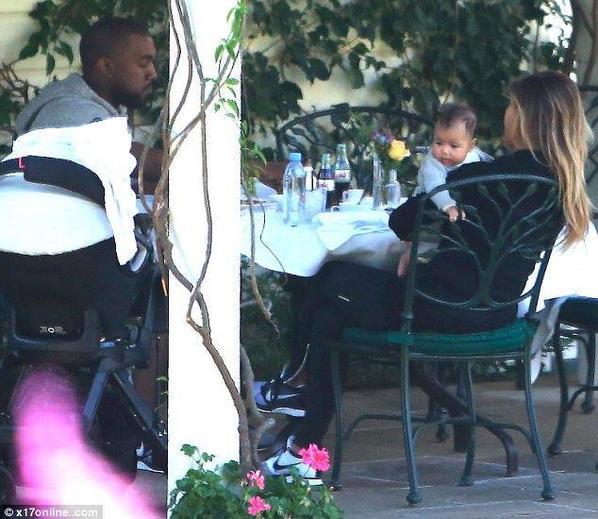 Kim Kardashian & Kanye West : Première sortie en public avec North !
