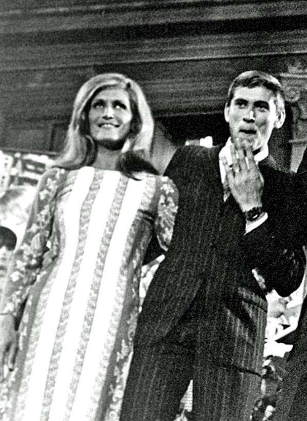 Dalida et Gianni Morandi - Cantagiro 1968