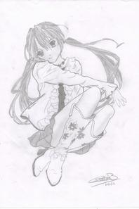quand je ne sais pas quoi faire ... je dessine! ;)