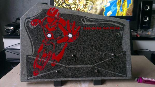 sticker plaque funéraire