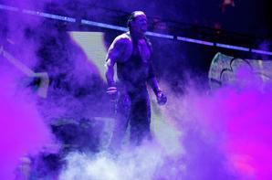 undertaker et  triple hhh