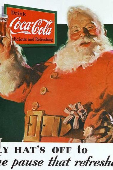 Père Noël, l'horrible mensonge aux enfants.