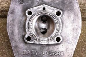 Culasse Malossi polygonale d45.5 pour monter sur mes CVF air et fonte