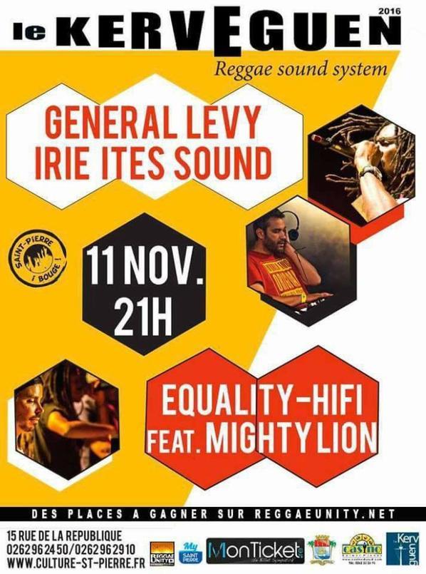 SESSION DUBPLATE avant concert  AVEC GENERAL LEVY à la Reunion
