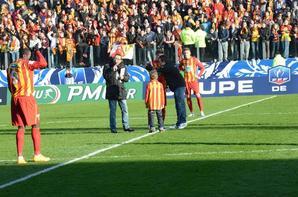 souvenirs  coup d'envois  4 janvier 2015 du match rc lens 2 3 lyon ( coupe de france) fr3 14h15 au stade de lépopée a calais