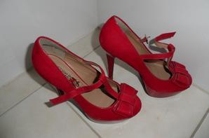 Mes escarpins ( rouge )