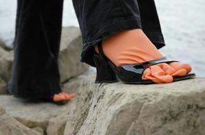 gants sur pied