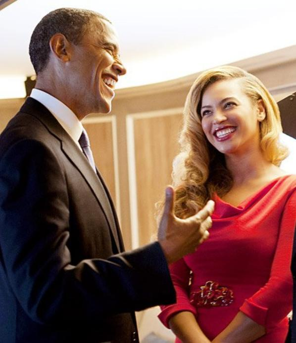 Beyoncé et Barack Obama