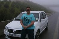 moi et amis sur la route en direction d'Alger