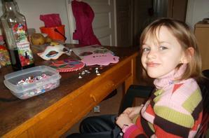 hier journée déco avec ma petite fille  Jeanne  7 ans !!!