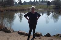 cet après midi au bord du lac de Machilly   !!!